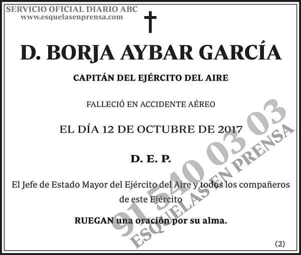 Borja Aybar García